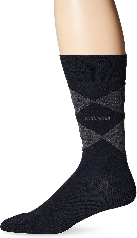 Hugo Boss Men's James Argyle Crew Sock