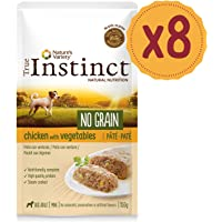 True Instinct No Grain Mini Paté de Pollo para Perros 150 gr - Pack de 8
