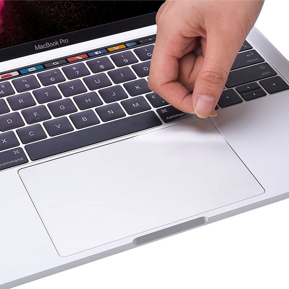 (2 Pack) Clear Anti-Scratch Trackpad Protector Touchpad Cover Skin for New MacBook Pro 13 inch 2020 Release with Magic Keyboard Model A2289 A2251 (MacBook Pro 13 Inch A2289)