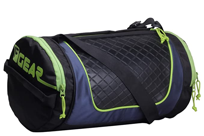 874d0d23d8 F Gear Astir 18 Liter Gym Bag (Black with Green)  Amazon.in  Bags ...