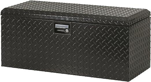 Lund 288271 32 Inch Challenger ATV Rear Heavy Duty Aluminum Tool Box Black