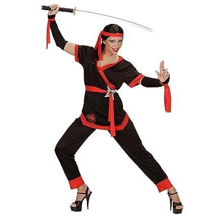 WIDMANN Sancto Disfraz de Chica Ninja Adulto Carnaval ...