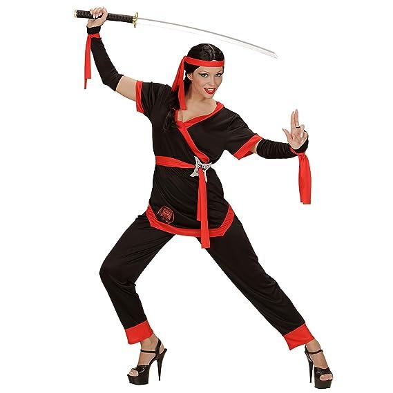 WIDMANN 05863 ? Adultos Disfraz Ninja Girl, Chaqueta ...