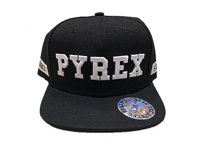 PYREx. Cappello Baseball (Nero Bianco)  Amazon.it  Abbigliamento 6068b4d4f532