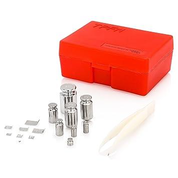 Smart Weigh El Kit de Calibración de Balanza, Incluye diferentes tamaños: 50g, 2x20g