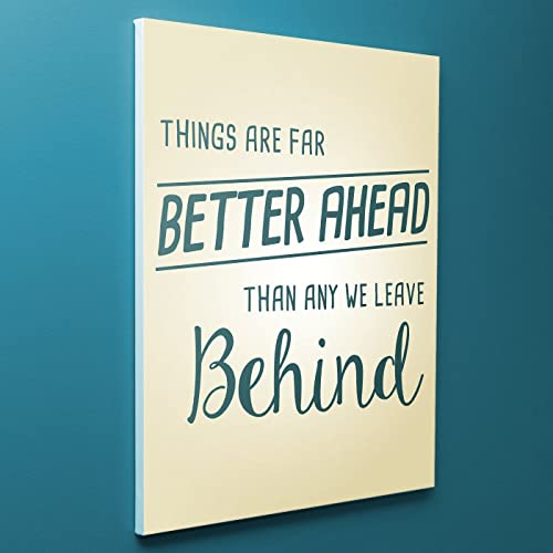 Amazoncom Girls Bedroom Decor Canvas Quotes Things Are Far