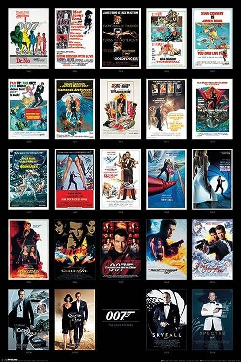 James Bond 007 Poster