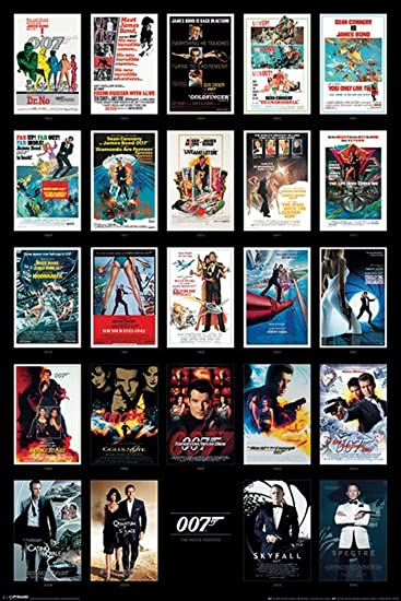 Amazoncom James Bond Spy Film Movie Series Franchise - 15 amazing film locations from the james bond 007 franchise