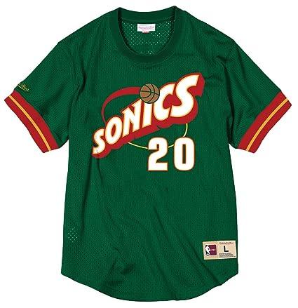 682adf4e526 Gary Payton Seattle Supersonics Mitchell   Ness NBA Men s Mesh Jersey Shirt