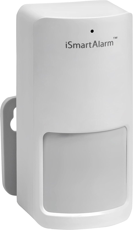 iSmartAlarm Motion Sensor | Adjustable 30ft Range Wireless Battery Powered