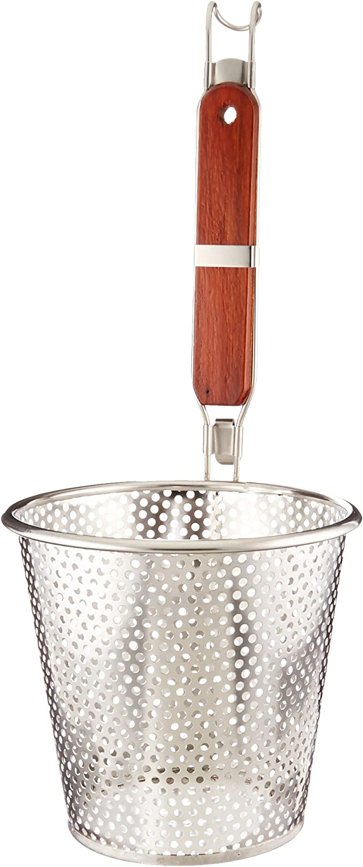 "ExcelSteel Pasta Basket, 6-1/4"", Stainless Steel"