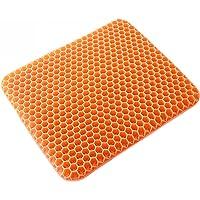 Stolsäte, kuddkylning Gel Sittdynor Bilkudde för vuxna Honeycomb Design Ergonomisk stolkudde Andas svettbeständig - för…