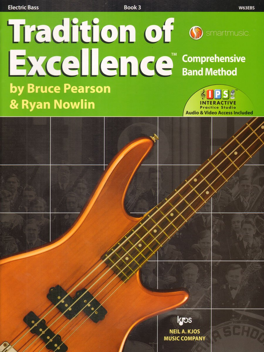W63EBS - Tradition of Excellence Book 3 - Electric Bass