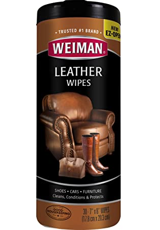 Peachy Weiman Wipes Non Toxic Clean Condition Uv Protection Help Prevent Cracking Or Fading Of Leather Couches Car Seats Shoes Purses Clear 30 Count Forskolin Free Trial Chair Design Images Forskolin Free Trialorg