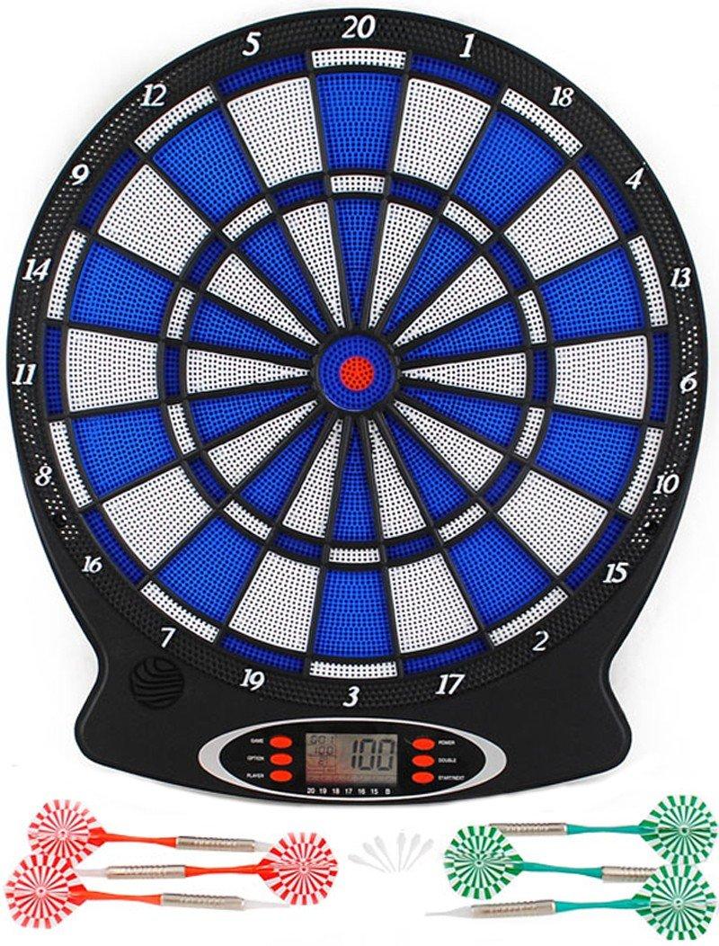 Elektronische Dartscheibe Dartboard Dart inkl. 6 Pfeile Dart Spiel #803 Iso Trade