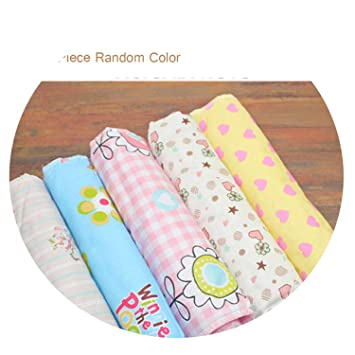 Lot of 6 Pieces Cotton Baby Changing Pad Covers