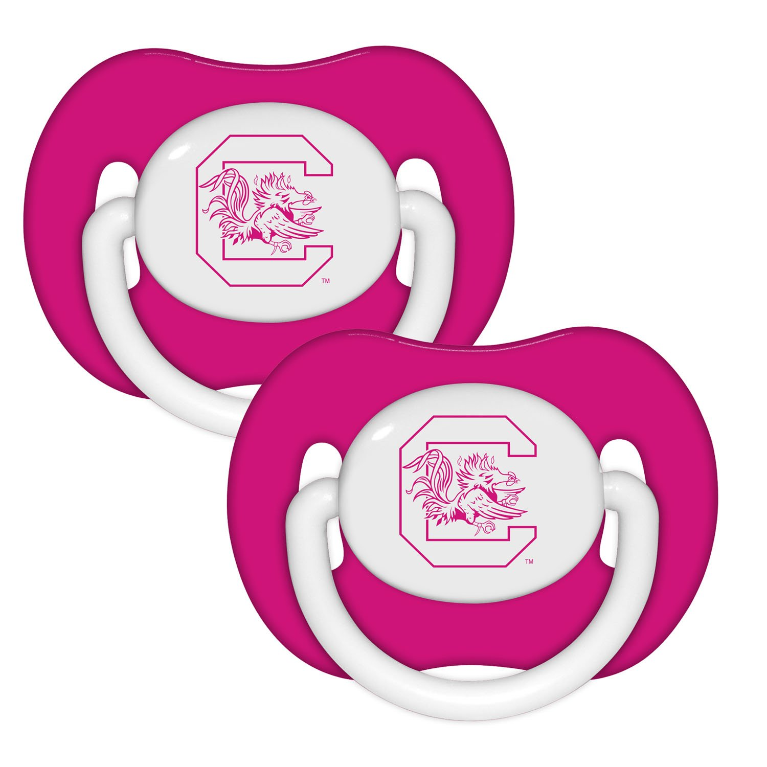 Baby Fanatic Pacifier - University of South Carolina Pink by Baby Fanatic   B00TW9EKL0