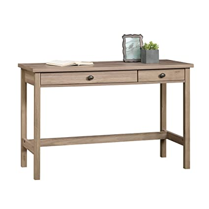 amazon com sauder 418213 writing desk salt oak kitchen dining rh amazon com oak writing desk nz oak writing desk nz