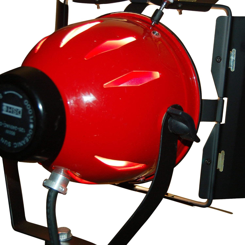 Video Studio continu Red Head Lumi/ère 800w rousse d/éclairage vid/éo avec variateur int/égr/é