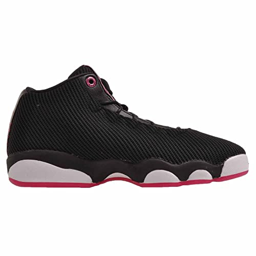 super popular a2456 117b4 Amazon.com   Jordans Girl s Jordan Horizon Low Walking Shoes Black Vivid  Pink-White   Sneakers