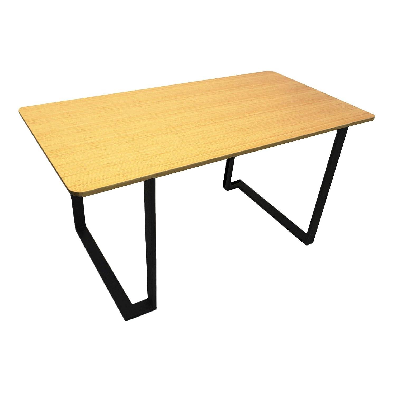 Homacer Metal Table Legs Trestle Set of 2, 28