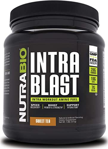 NutraBio Intra Blast – 30 Servings Sweet Tea