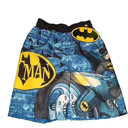 4ffd64d28c Amazon.com: DC Comics Batman Toddler Boys Swim Trunks (2T): Clothing
