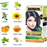 Indus Valley Permanent Herbal Hair Colour- Black Kit
