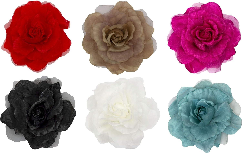 Poppy Pink Carnation Flower Millinery Applique