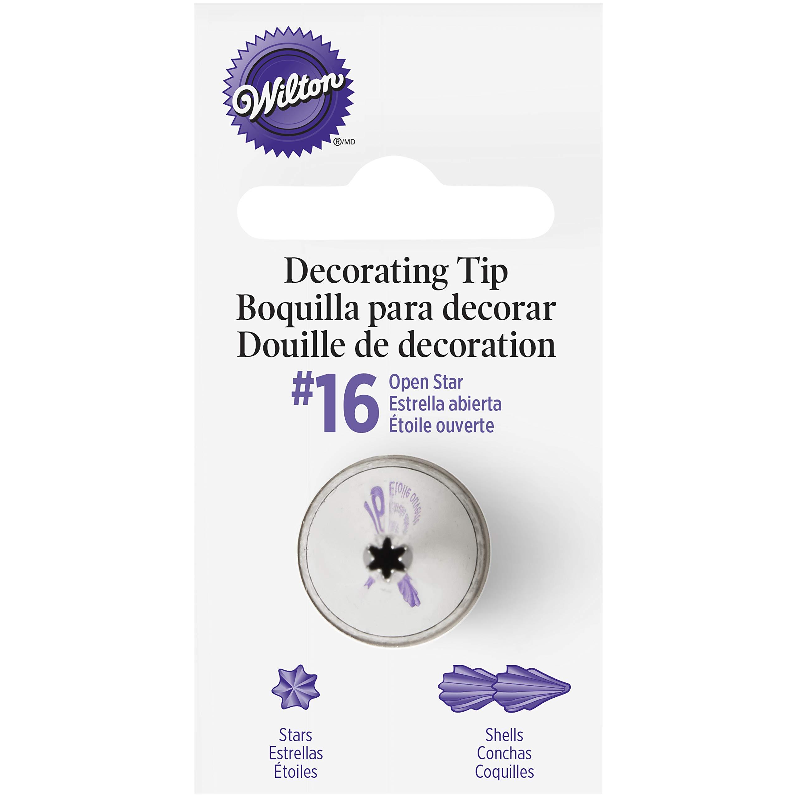 Wilton Decorating Tip, No.16 Star