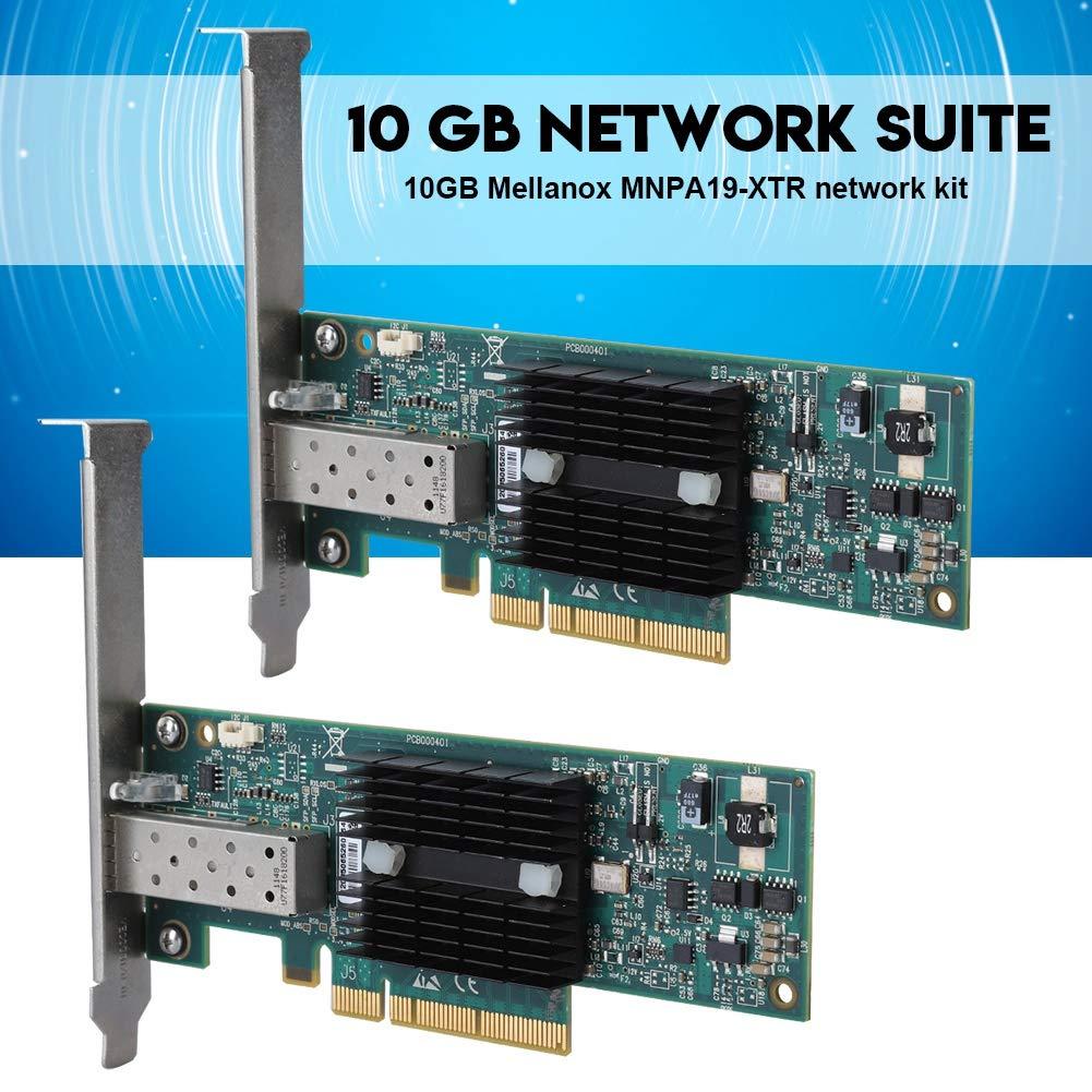 Bewinner PCI-E - Tarjeta de Red para Mellanox MNPA19-XTR, Puerto ...