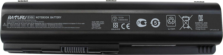 BATURU EV06 Laptop Battery for HP Pavilion dv4 dv5 G50 G60 G70 G71 G60-535DX Compaq Presario CQ60 CQ50 CQ40 CQ70 CQ45 484170-001 484171-001 484172-001 485041-001 485041-002