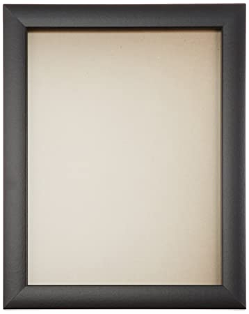 craig frames 1wb3bk 17 by 22 inch picture frame smooth wrap finish 1