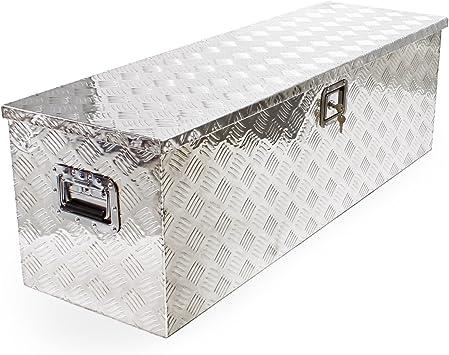 Caja para Herramientas aluminio metal grande Almacenaje Transporte tool box: Amazon.es: Bricolaje y herramientas
