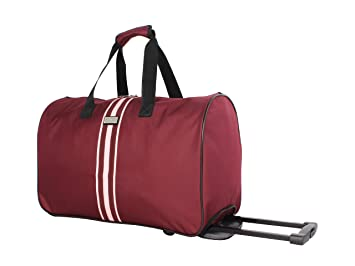 ce48e8aabd71 Image Unavailable. Image not available for. Color  Steve Madden Luggage  Suitcase Wheeled Duffle ...