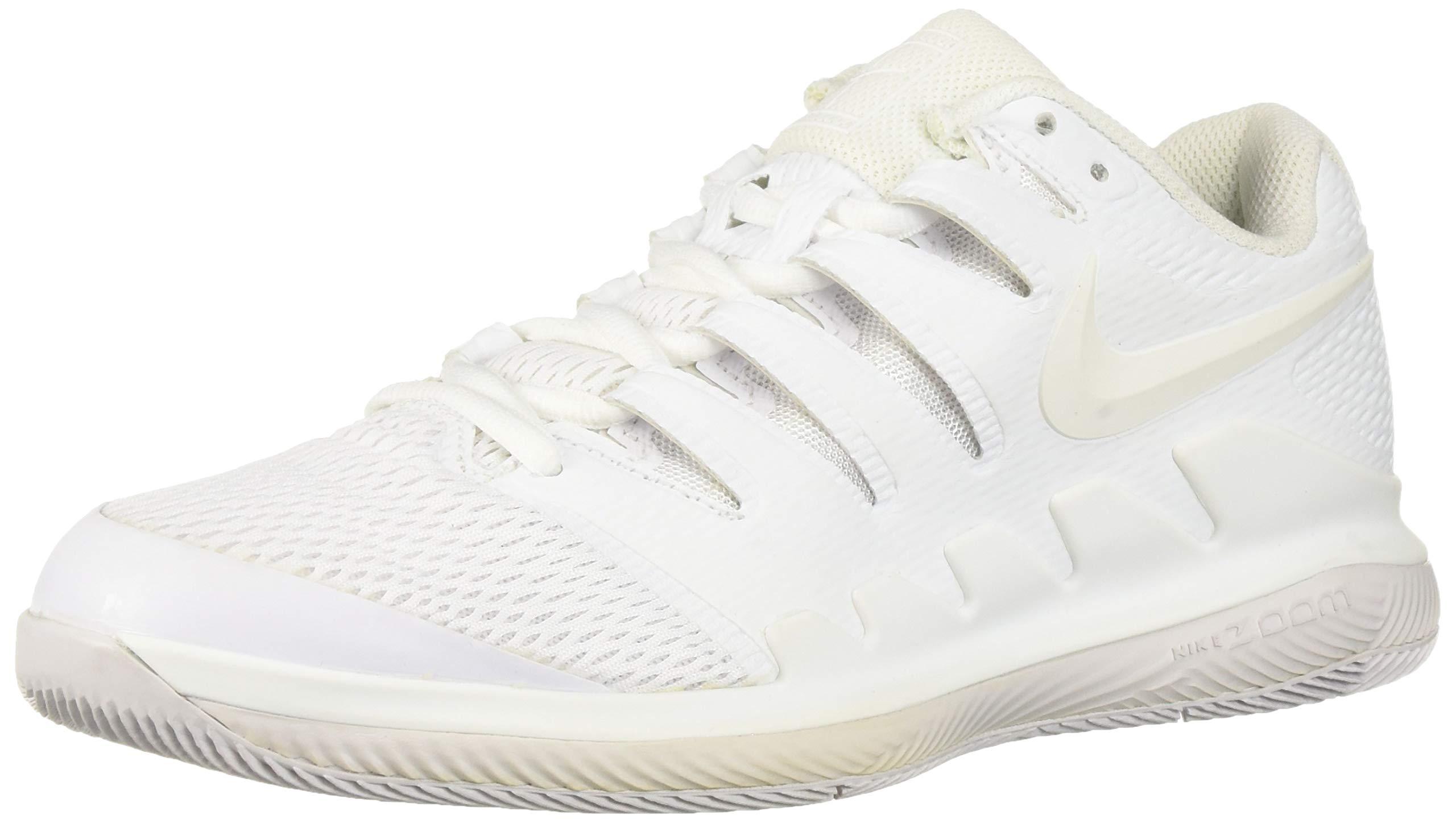 Nike Women's WMNS Air Zoom Vapor X Hc Trainers, Multicolour WhiteVast Grey 001, 6 UK