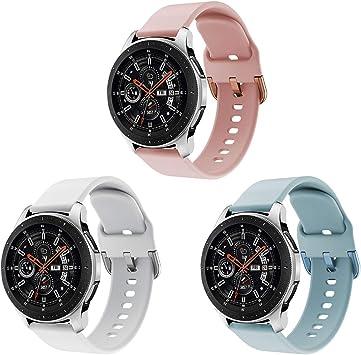 Yayuu Compatible para 22mm Correa de Reloj Galaxy Watch 46mm/Gear ...