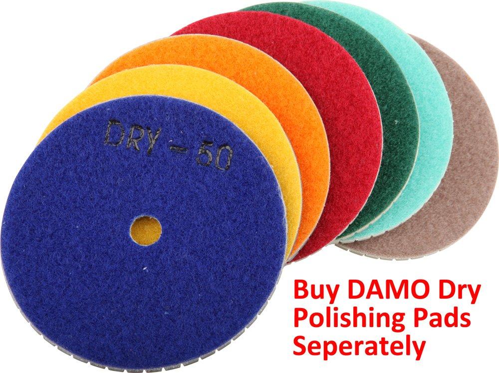 4'' DAMO Aluminum Back Holder / Backer Pads for Diamond Polishing Pads