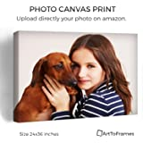 ArtToFrames Photo To Canvas Gallery Wrap 1.5 Inch – 24x36