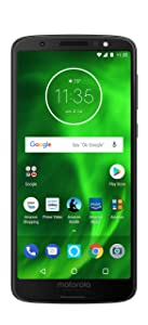 Moto G6 with Alexa Hands-Free – 32 GB – Unlocked (AT&T/Sprint/T-Mobile/Verizon) – Black - Prime Exclusive Phone