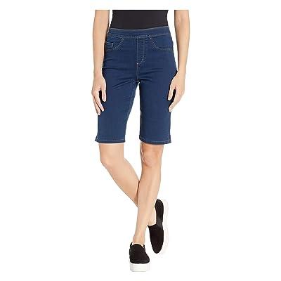 FDJ French Dressing Jeans D-Lux Denim Pull-On Bermuda in Indigo Indigo 18 at Women's Clothing store