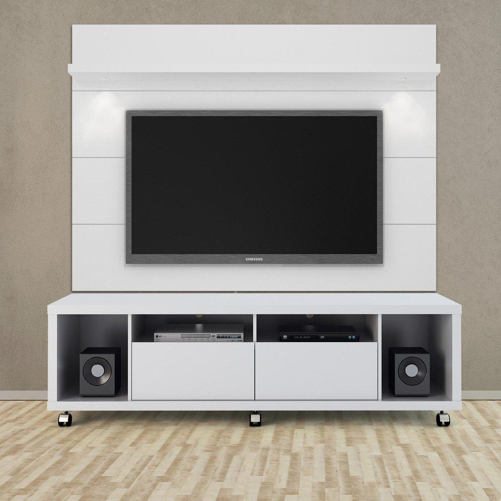 Amazon Com Manhattan Comfort Cabrini 2 2 Panel Collection  # Panneau Tv Ikea