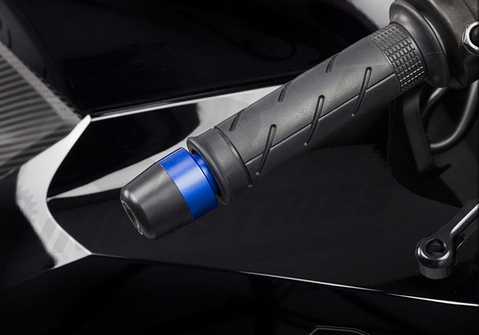 Bar Ends for Honda CBR600RR CBR1000RR F4 F4i (Blue) by TST Industries (Image #2)