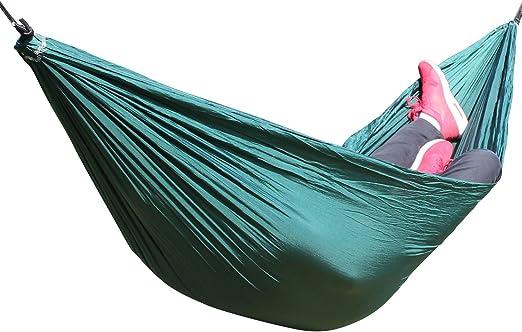 in un pratico sacchetto per il trasporto 200 x 300 cm portata fino a circa 180 kg diversi design Canyonlands Amaca per pi/ù persone in seta per paracadute