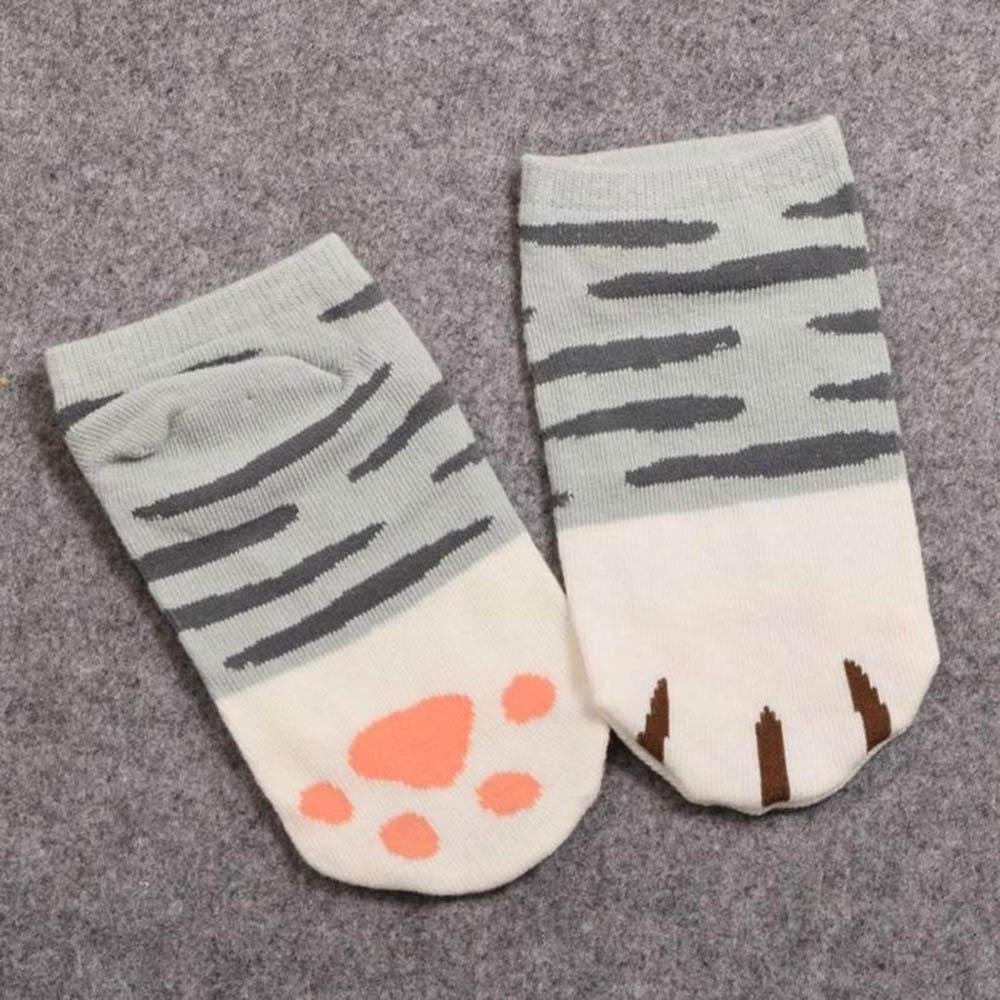 Amazon.com: Boutiages Calcetines Gift Present Anime Short Props 1 Pair Girls Short Ankle Socks Socks Cute Cat Claw Style: Clothing