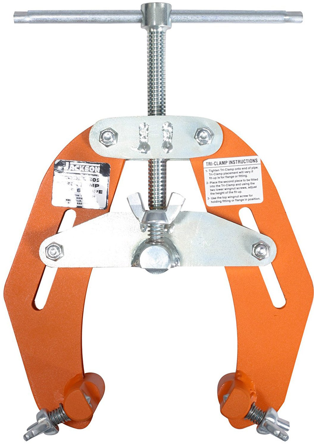 Jackson Tool 303 Tri-Clamp with 5'' - 12'' Diameter Capacity by Jackson