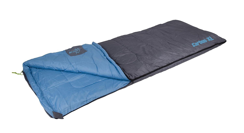 Bo-Camp Carbon Saco de Dormir Gris 220/x 80/cm