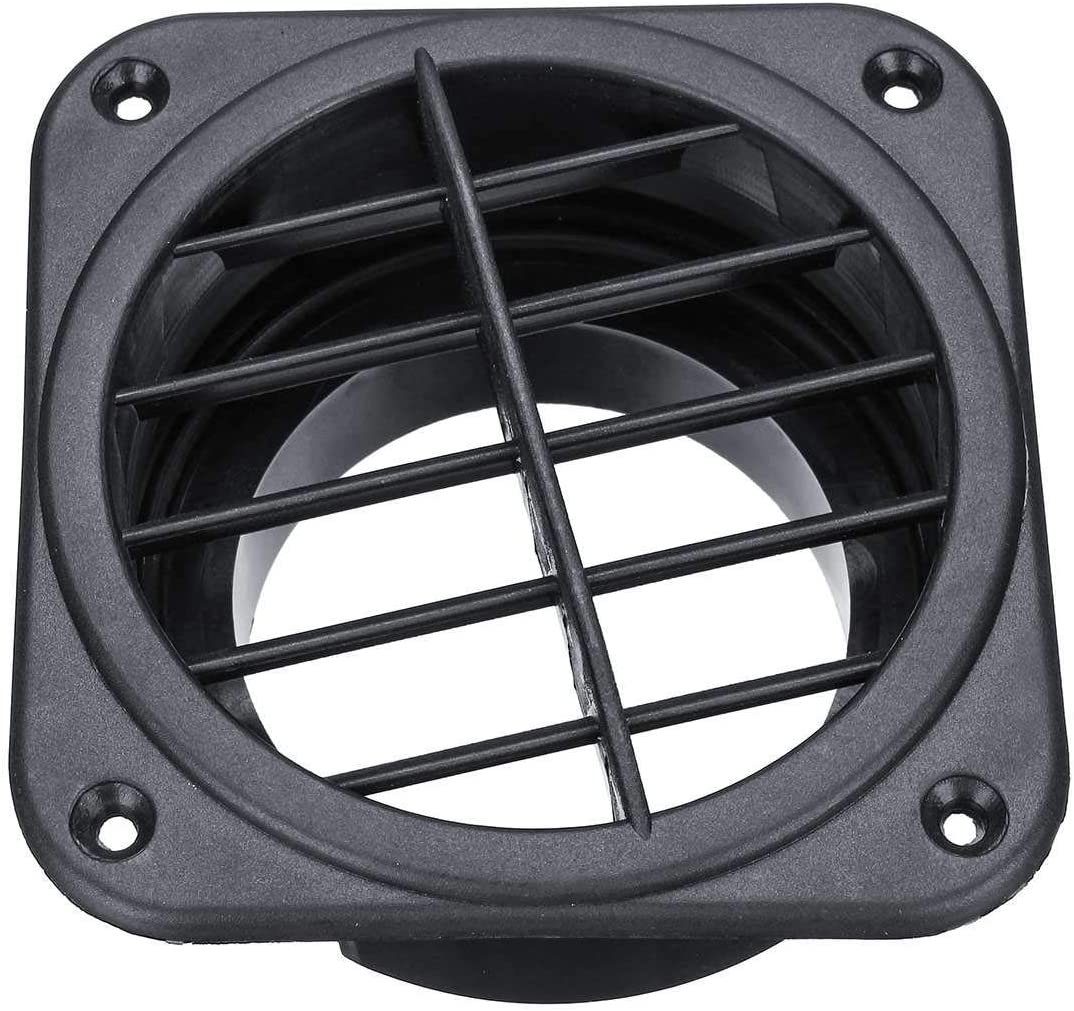 75mm Car Warm Air Vent Outlet Air Heater Ducting for Eberspacher for for Propex Plastic GOLDEN2STAR