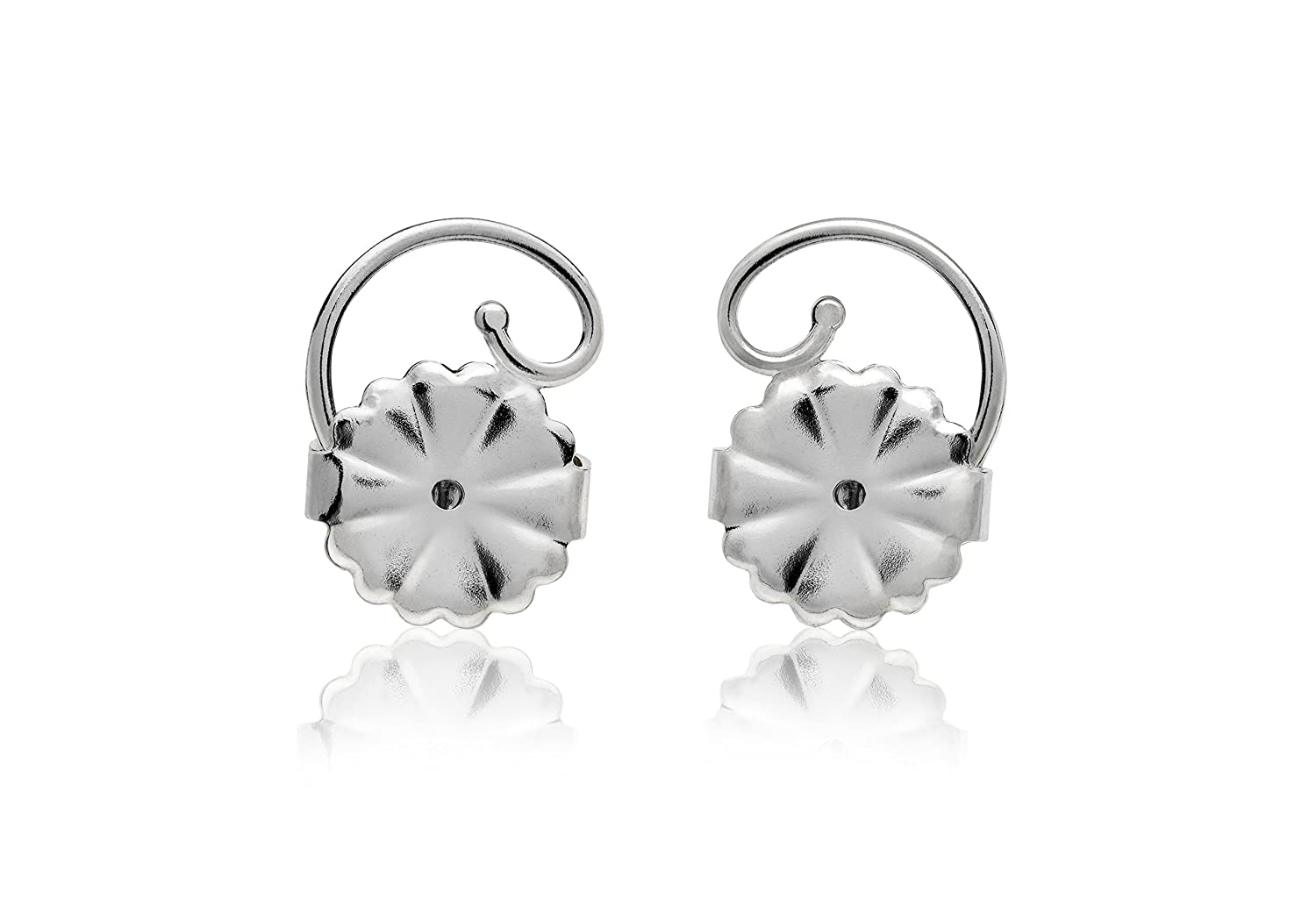d079c50e0 Amazon.com: Levears Earring Lifts 14kt White Gold: Beauty