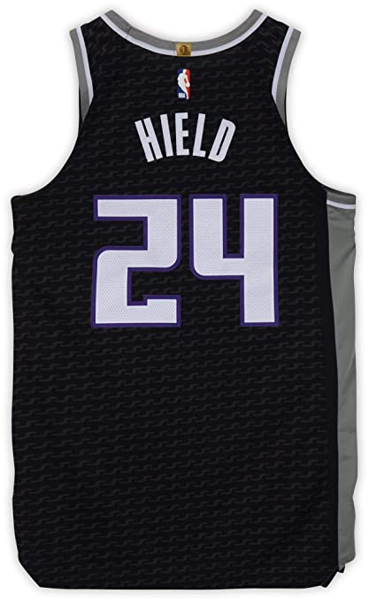 top brands high fashion best loved Buddy Hield Sacramento Kings Game-Used #24 Black Jersey vs ...